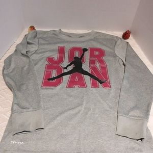 Jordan dri-fit heathered top